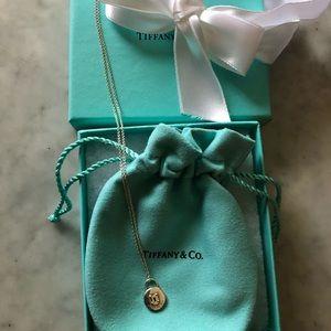 Tiffany & Co. lock necklace 🎀